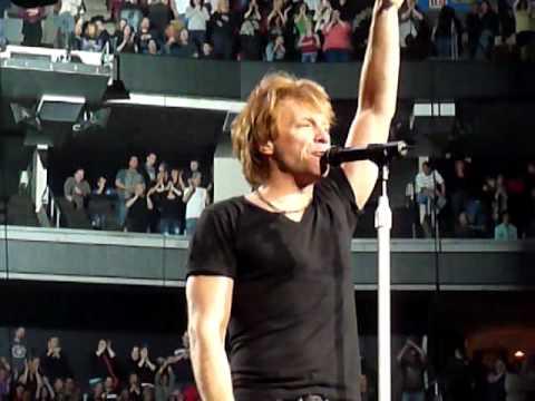 Bon Jovi - End Of The Show - 3/24/2010 @ The Wachovia Center Philadelphia, Pa.