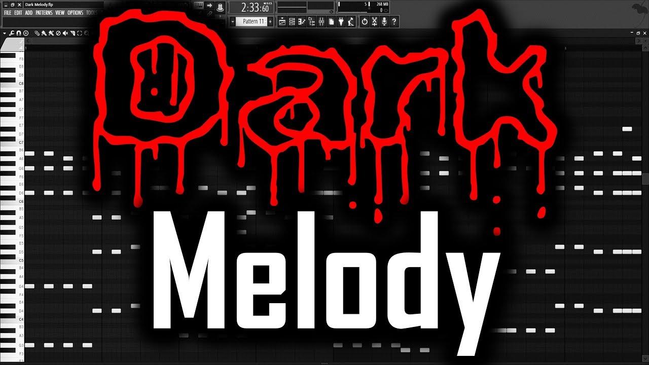 DARK MELODY FL STUDIO | How to Make a Dark Melody FL Studio Dark Melody  Tutorial Rawstyle Hardcore