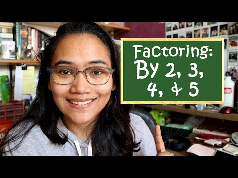 Factoring By 2, 3, 4, 5 - Speed Math Technique - Civil Service Review