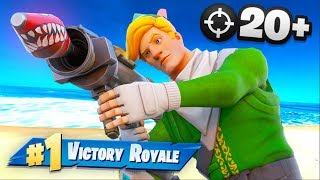 My First 20 Bomb in Fortnite Chapter 2!