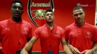 Arsenal trio take a tour of Emirates Stadium | Outtakes