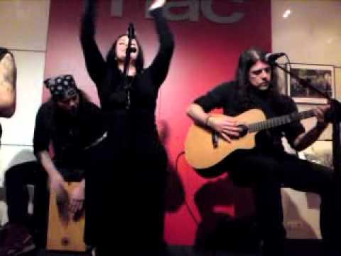 Moonspell - Alma Mater acústico @ Fnac, A Coruña 9/12/2011