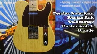Fender FSR American Rustic Ash Tele Butterscotch Blonde Demo