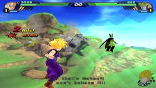 Dragon Ball Z Budokai Tenkaichi 3 - Story Mode SSJ Goku & Gohan Vs Perfect Cell (Part 11) 【HD】