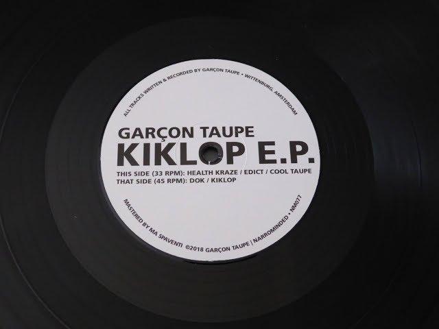 Garçon Taupe -- Health Kraze