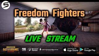 PUBG Mobile Live Stream | Freedom Fighters of PUBG