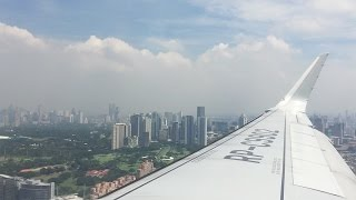 Philippine Airlines 313 | Morning Landing in Manila | Airbus A321