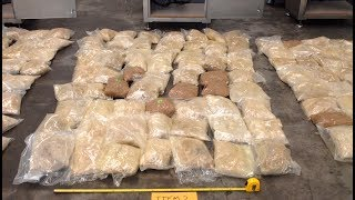 Aussie border cops find half ton of ecstasy hidden in meat grinders