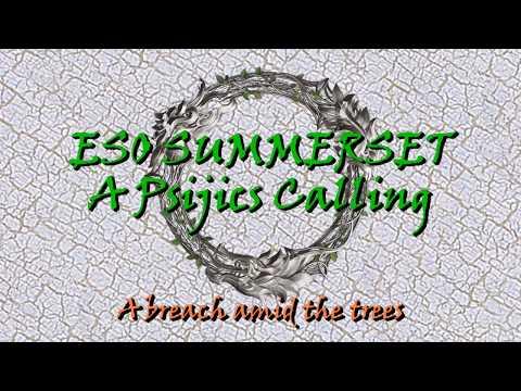 ESO Psijic Order A breach amid the trees  