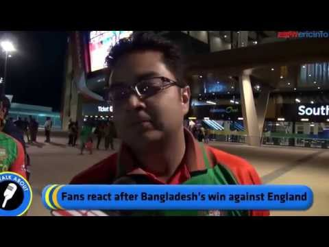 Bangladesh Vs England ICC World Cup 2015 - Crazy Fans Of Bangladeshi Cricket Team. Must Watch
