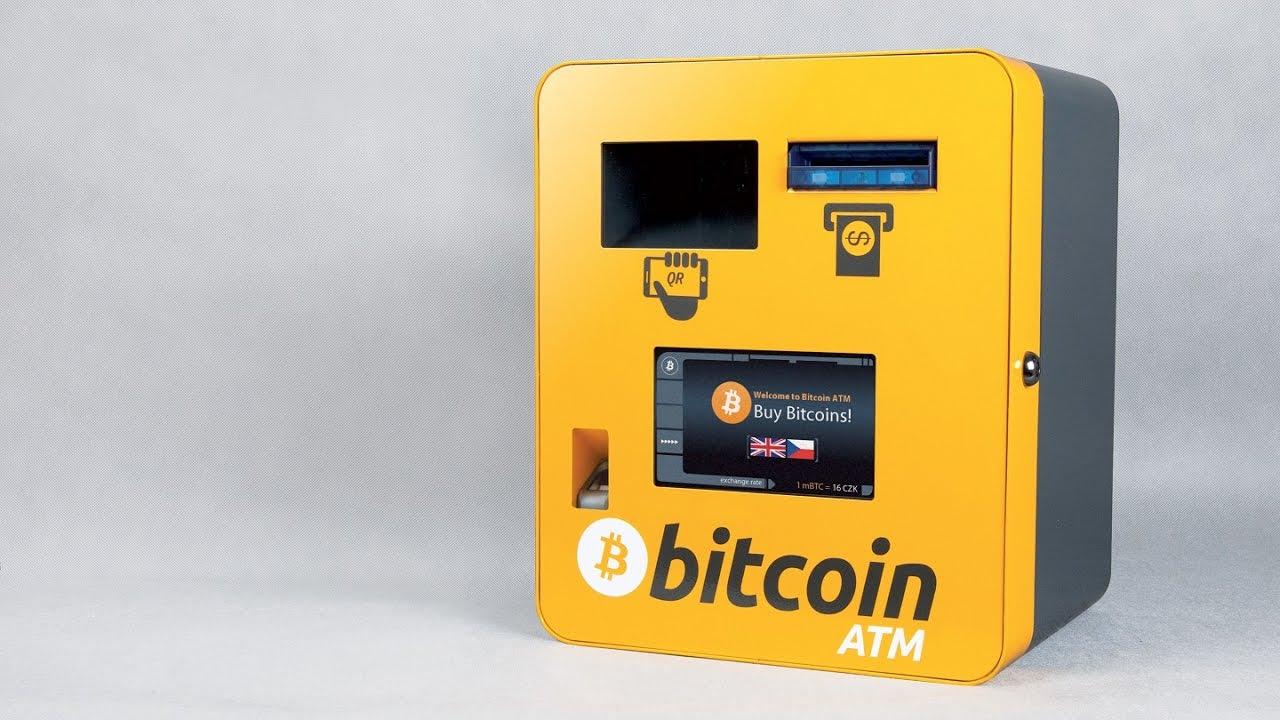 bitcoin atm praga