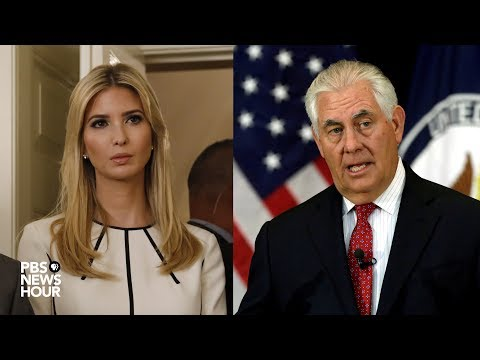 Ivanka Trump joins Sec. of State Rex Tillerson to discuss human trafficking