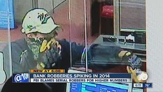 FBI blames trio of serial bank robbers for spike in San Diego County bank robberies