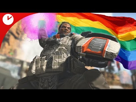 Maining The Big Gay   Apex Legends   Becoming Ranked 1 Hot Smecy Gibraltar