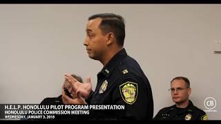 H.E.L.P. Honolulu Pilot Program Presentation