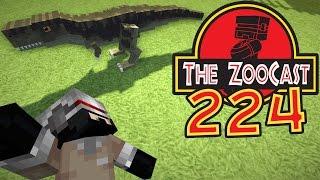 Minecraft Jurassic World (Jurassic Park) ZooCast - #224 It's Hatching Time!