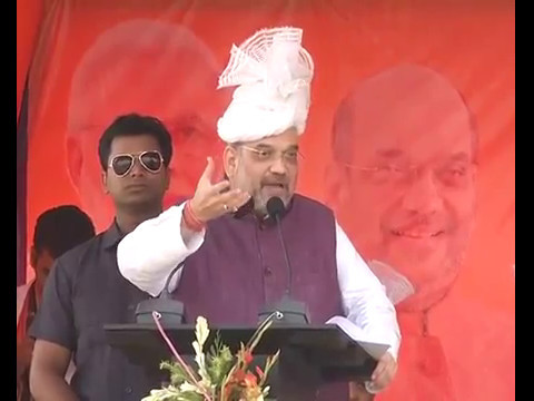 Shri Amit Shah addresses public meeting in Fatikroy, Tripura : 07.05.2017
