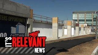 Pedestrian Bridge Construction Begins Over Washington Blvd. In Stamford