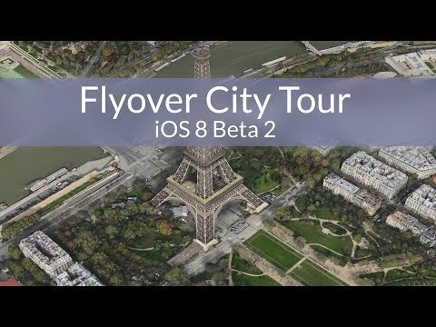 Hidden 'City Tours' Flyover Feature for iOS 8 Maps Discovered in Beta 2