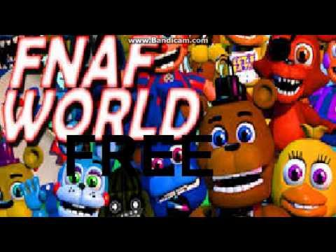 แจกFNAF WORLD FREE[ฟรีแน่นอน]
