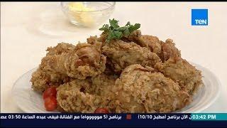 """مطبخ 10/10 - الشيف أيمن عفيفي - الشيف شريف أبو زيد - طريقة عمل الدجاج المقرمش """"وسر الخلطة"""""""