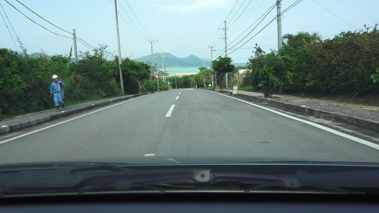 4K 国道390号 石垣島区間 730記...