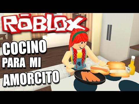 COCINO PARA MI AMORCITO SECRETO!! | Ep.2 | ROBLOX roleplay (con Dain)