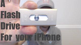 An iPhone External Flash Drive...WOW!