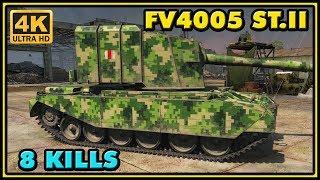 World of Tanks | FV4005 Stage II - 8 Kills - 8,4K Damage Gameplay