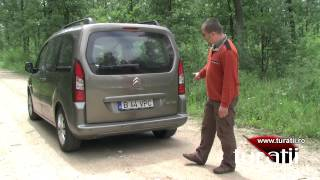 Citroen Berlingo Multispace 1,6l HDi explicit video 1 of 4(For comments, more details, pictures and videos: http://www.turatii.ro., 2012-06-22T18:58:30.000Z)