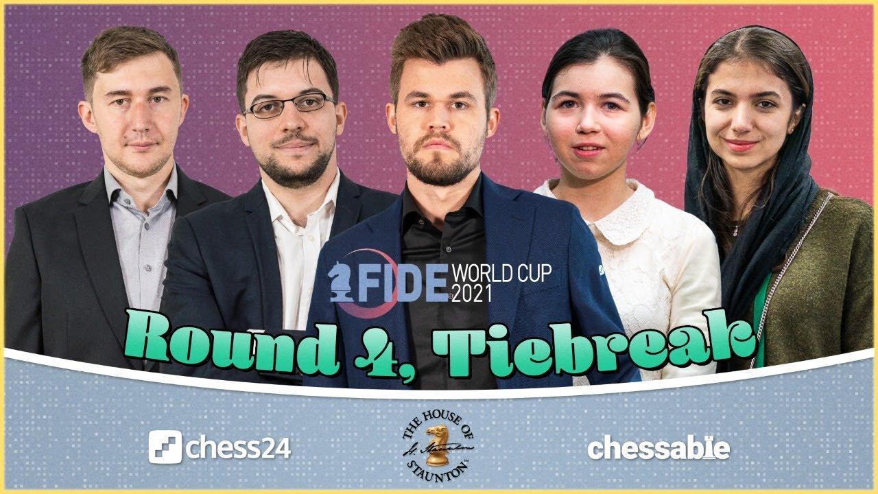 Download FIDE World Cup, Round 4.3   Jan Gustafsson & Laurent Fressinet