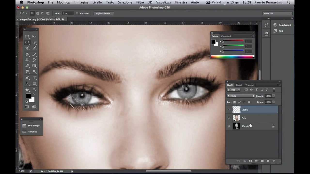 Photoshop Cs6 Colorare Una Foto In Bianco E Nero Ed Effetto