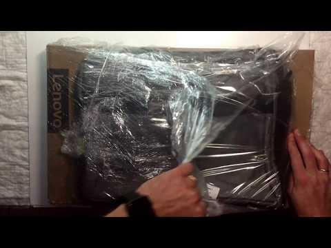 Распаковка Lenovo IdeaPad 110-15ACL (80TJ00F4RA) Black из Rozetka.com.ua