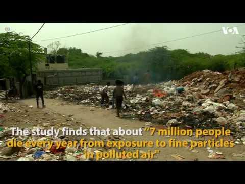 Delhi is most polluted mega- city