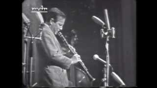 Louis Armstrong & His All Stars. Live in Berlin 1965. Eddie Shu on clarinet. A one hour concert.