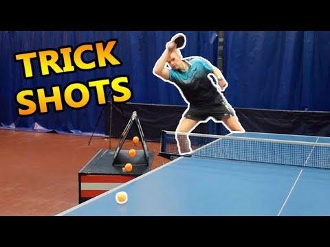 Table Tennis Trick Shots I Pongfinity