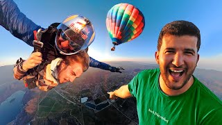 Surprising Thomas with the World's Rarest Skydive