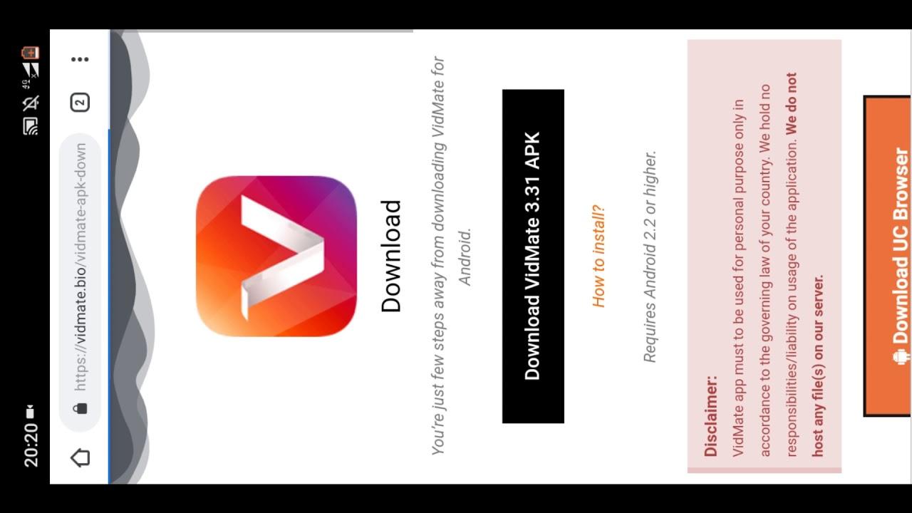 vidmate latest version apk file download