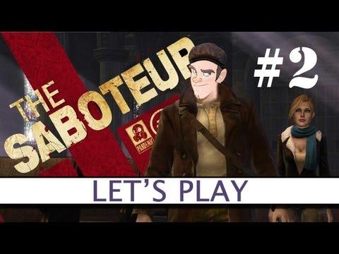 The Saboteur - Let's Play LIVE #2 - Platform32