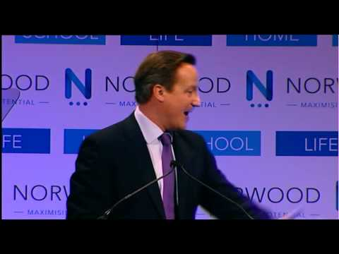 David Cameron at the Norwood Annual Dinner 2014