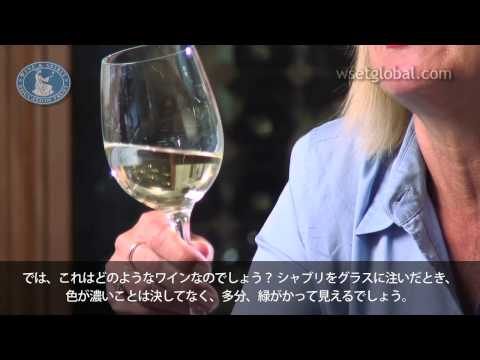 WSET 3 Minute Wine School - Chablis, presented by Jancis Robinson MW - Japanese subtitles