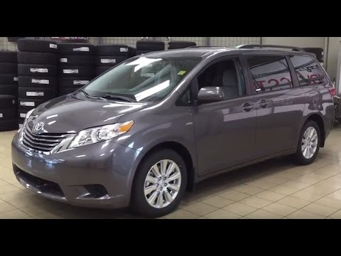 2017 Toyota Sienna Le Awd Review