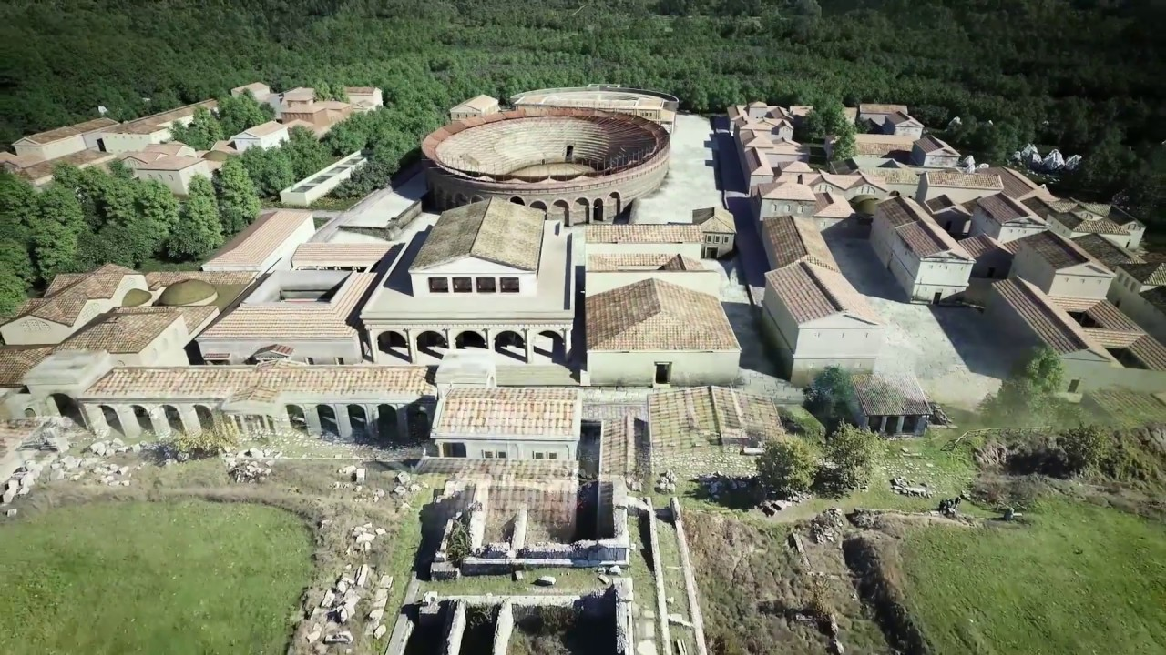 La nuova APP per il PARCO ARCHEOLOGICO di Carsulae - YouTube