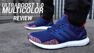 Adidas Ultra Boost 1.0 Navy Multicolor 2018 Restock Review & On Feet