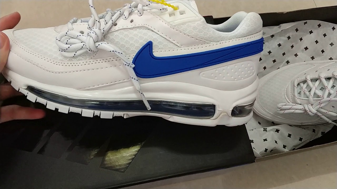 Skepta x Nike Air Max 97 BW AO2113-100 - YouTube 8f59c4a71
