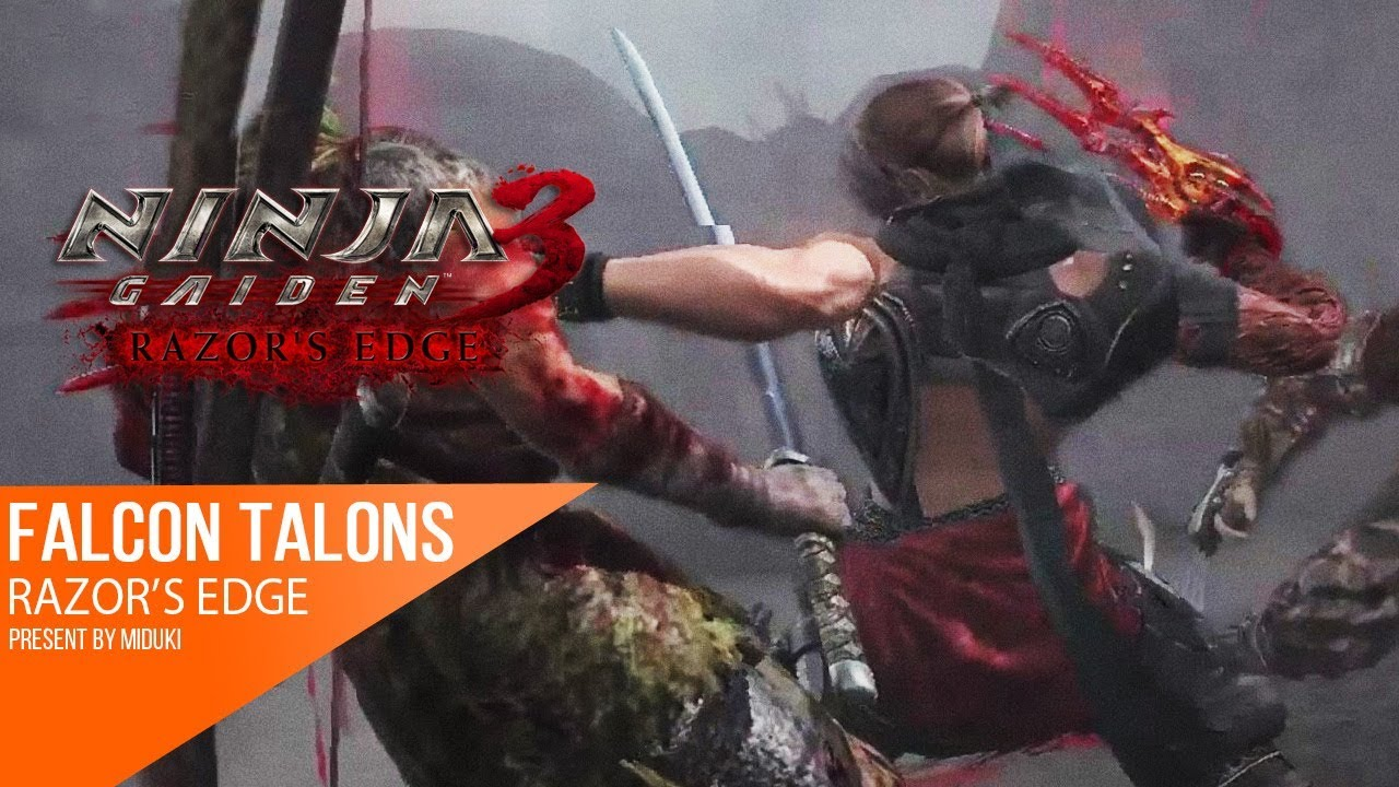 60fps Weapon Spotlight Falcon S Talons Claw Ninja Gaiden 3 Razor S Edge Youtube