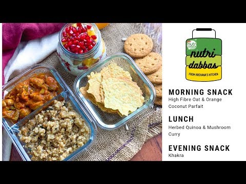 Healthy Office Lunch Box Recipes Episode 5 Nutri Dabba by Archana's Kitchen