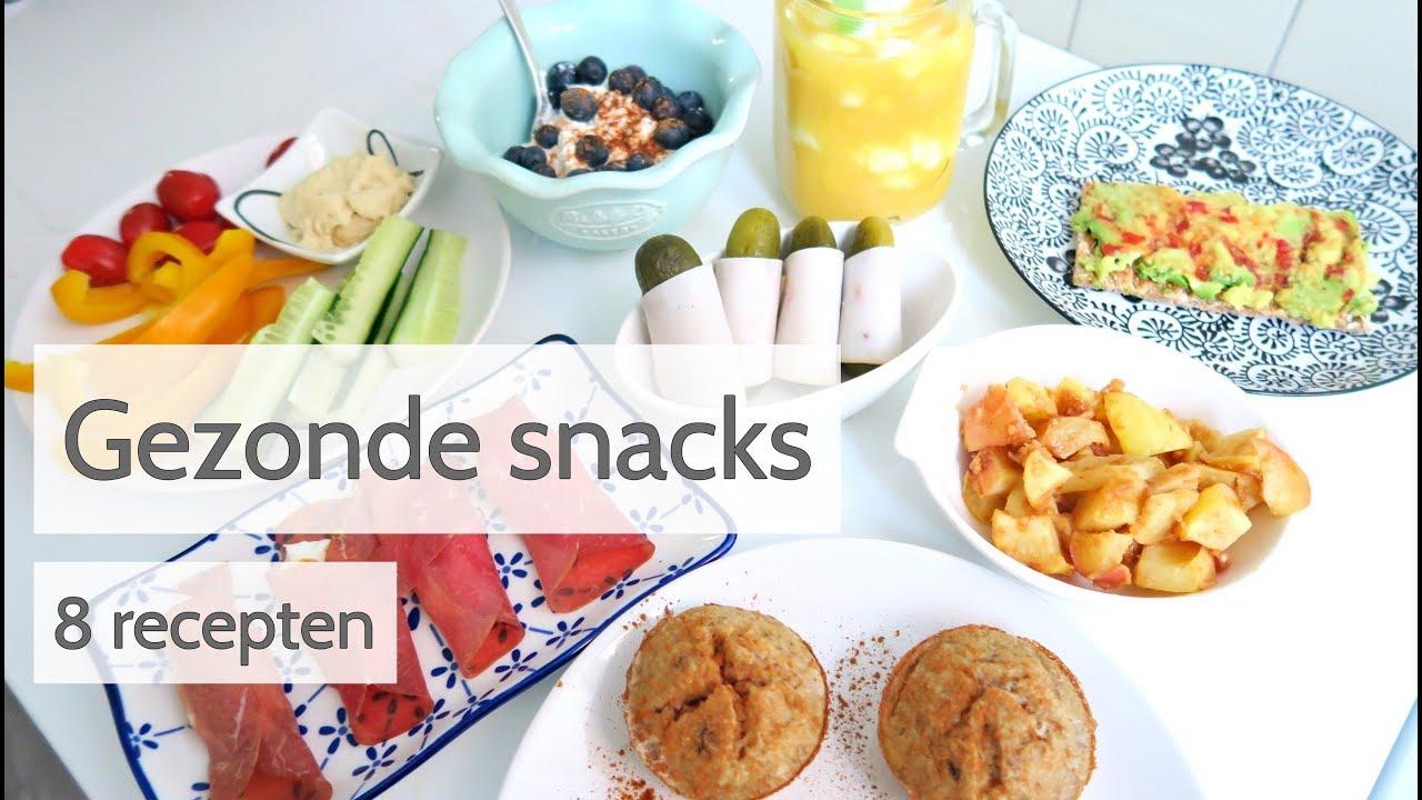 Fabulous Gezonde Snacks - 8 Makkelijke en snelle recepten! - YouTube SS01