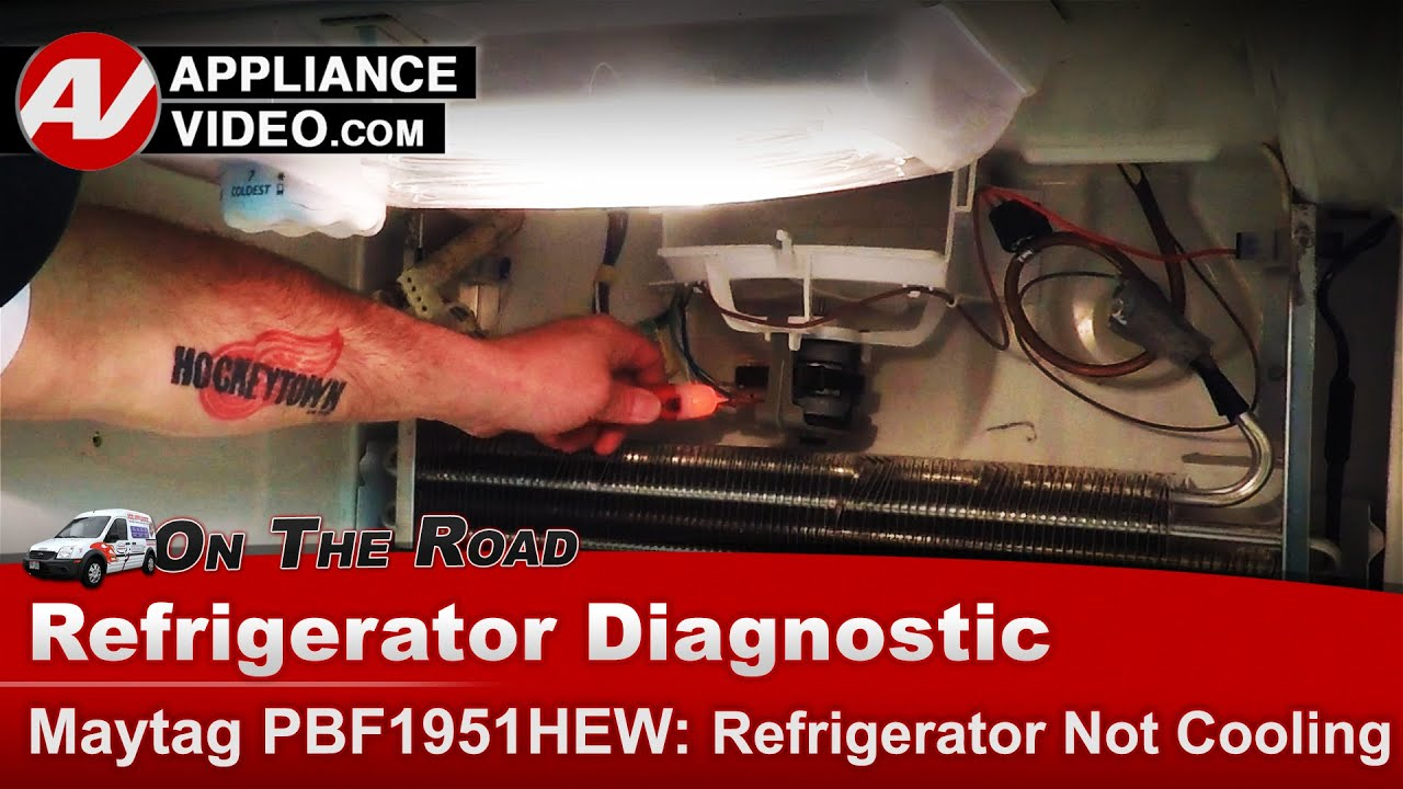Refrigerator Not Cooling Maytag Roper Whirlpool Diagnostics