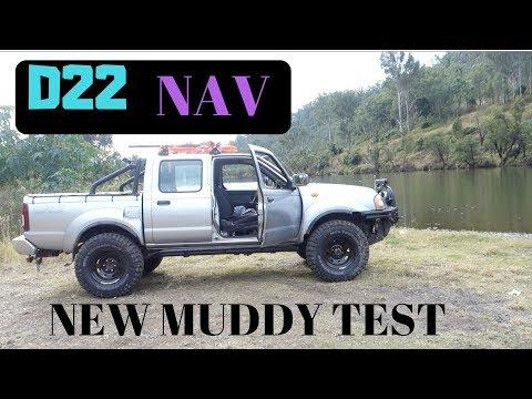 NEW MUD TYRES TEST   4x4   NISSAN D22   GeeJay Gallman